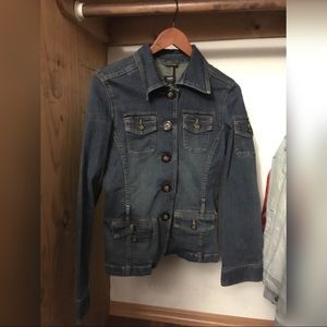 MOSSIMO®️ WOMENs Dark Blue/ Navy DENIM JACKET